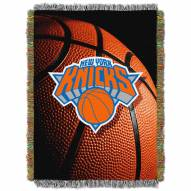 New York Knicks Photo Real Throw Blanket