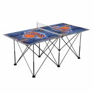 New York Knicks Pop Up 6' Ping Pong Table