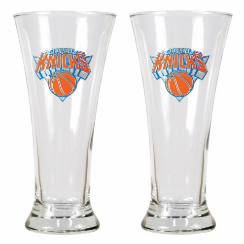 New York Knicks Premiere Pilsner Glass Set