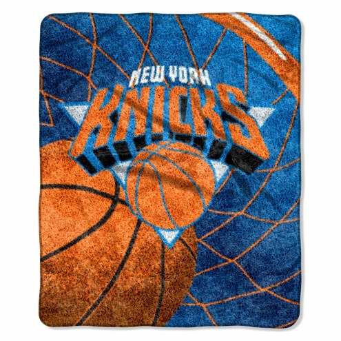 New York Knicks Reflect Sherpa Blanket