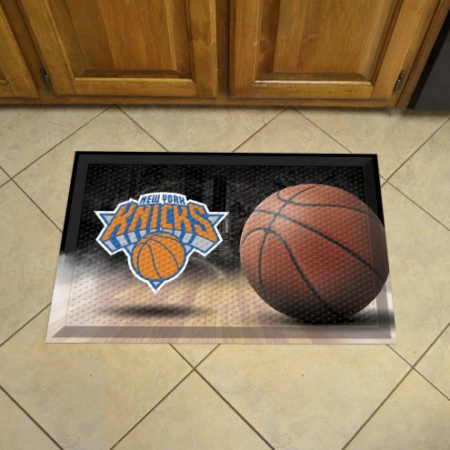 New York Knicks Scraper Door Mat