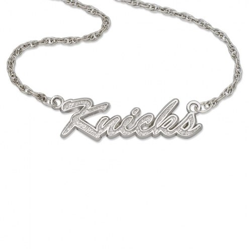 New York Knicks Sterling Silver Script Necklace