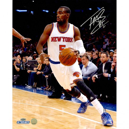 "New York Knicks Tim Hardaway Jr. Dribble Signed 16"" x 20"" Photo"