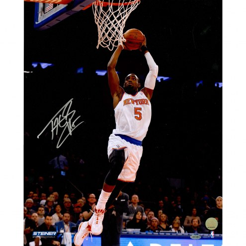 "New York Knicks Tim Hardaway Jr. Two Handed Dunk Signed 16"" x 20"" Photo"