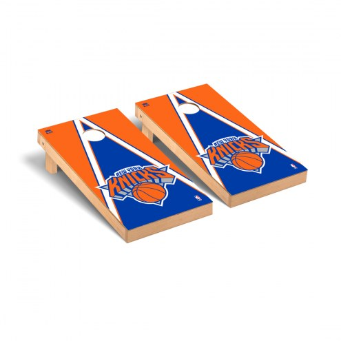 New York Knicks Triangle Cornhole Game Set