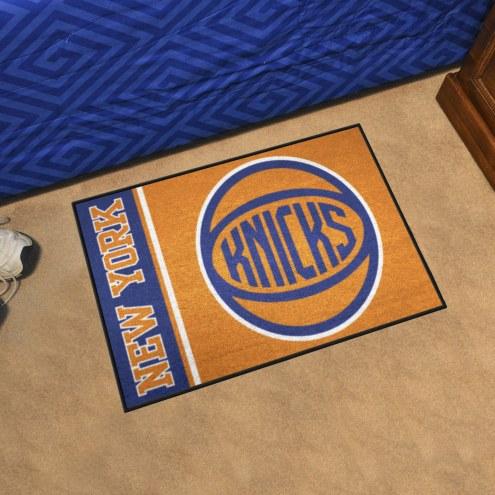 New York Knicks Uniform Inspired Starter Rug