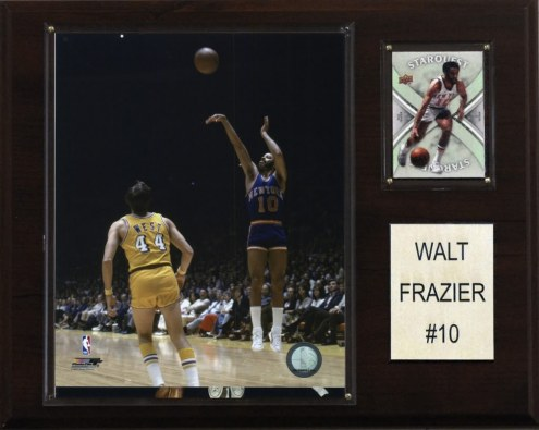 "New York Knicks Walt Frazier 12"" x 15"" Player Plaque"