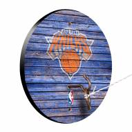 New York Knicks Weathered Design Hook & Ring Game