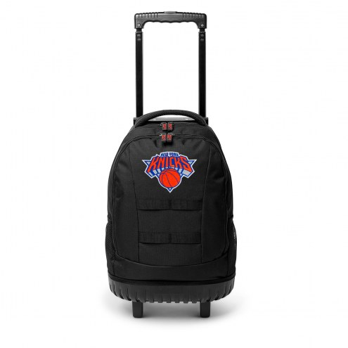 NBA New York Knicks Wheeled Backpack Tool Bag