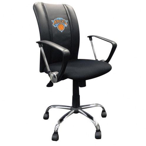 New York Knicks XZipit Curve Desk Chair