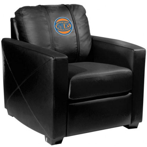 New York Knicks XZipit Silver Club Chair with Secondary Logo