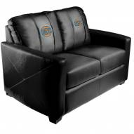 New York Knicks XZipit Silver Loveseat with Secondary Logo
