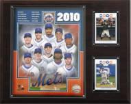 """New York Mets 12"""" x 15"""" 2010 Team Plaque"""