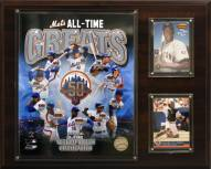 """New York Mets 12"""" x 15"""" All-Time Great Photo Plaque"""