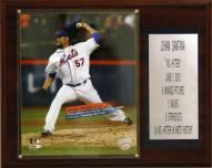 "New York Mets 12"" x 15"" Johan Santana No-Hitter Player Plaque"