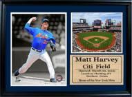 "New York Mets 12"" x 18"" Matt Harvey Photo Stat Frame"
