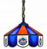 "New York Mets 14"" Glass Pub Lamp"