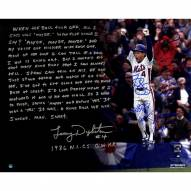 New York Mets 1986 Team Signed Lenny Dykstra 1986 NLCS GW HR 16 x 20 Story Photo