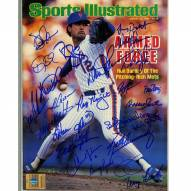 New York Mets 1986 Team Signed Ron Darling August 25, 1986 Sports Illustrated Magazine