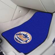 New York Mets 2-Piece Carpet Car Mats