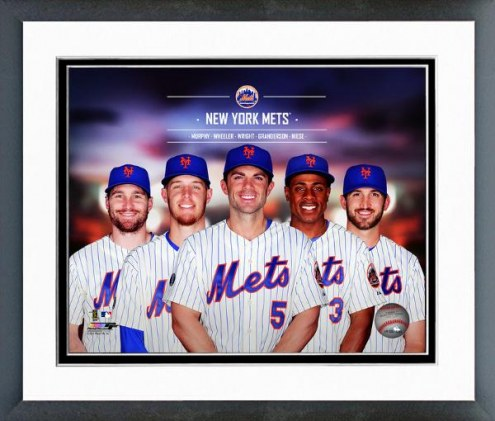 New York Mets Team Composite Framed Photo