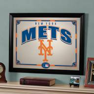 "New York Mets 23"" x 18"" Mirror"