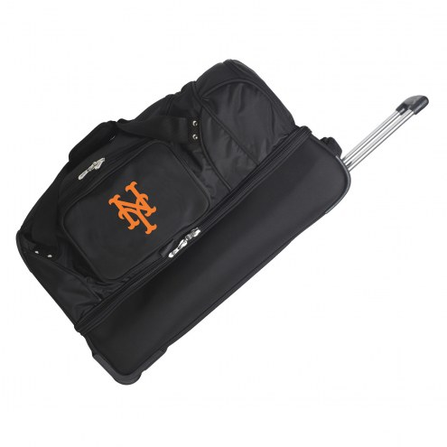 "New York Mets 27"" Drop Bottom Wheeled Duffle Bag"