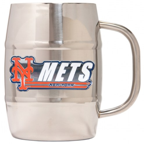 New York Mets 32 oz. Macho Barrel Mug