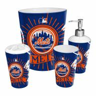New York Mets 4-Piece Bath Set