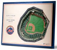 New York Mets 5-Layer StadiumViews 3D Wall Art