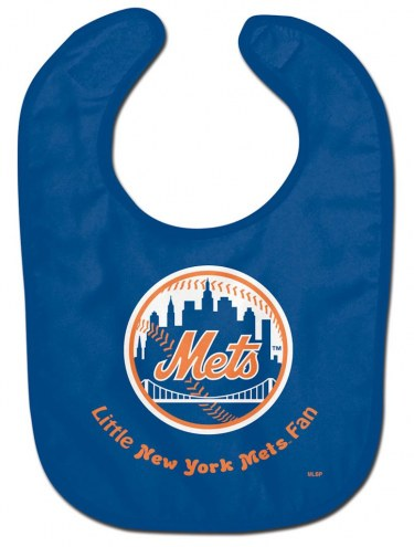 New York Mets All Pro Little Fan Baby Bib