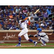 New York Mets Amed Rosario Signed 16 x 20 Photo