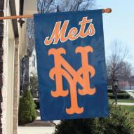 New York Mets Applique 2-Sided Banner Flag