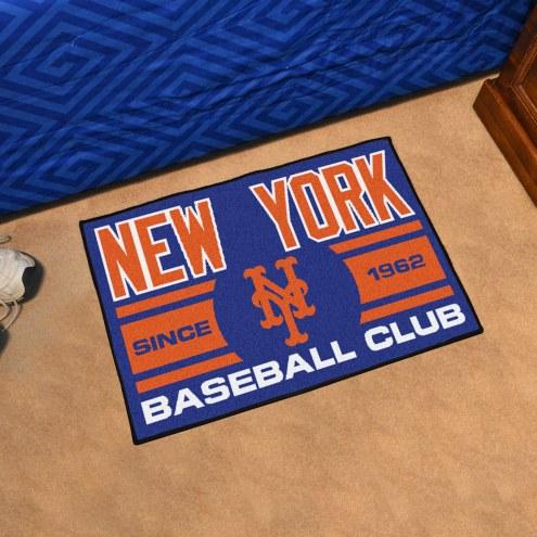 New York Mets Baseball Club Starter Rug