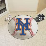 New York Mets Baseball Rug