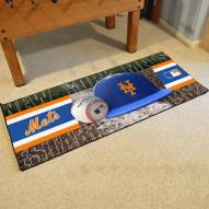 New York Mets Baseball Runner Rug