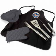 New York Mets BBQ Apron Tote Set