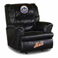 New York Mets Big Daddy Leather Recliner