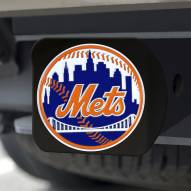 New York Mets Black Color Hitch Cover