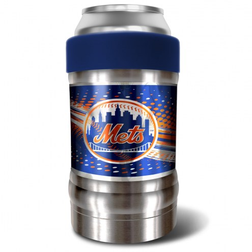 New York Mets Blue 12 oz. Locker Vacuum Insulated Can Holder