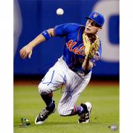 New York Mets Brandon Nimmo Signed Diving Catch 16 x 20 Photo
