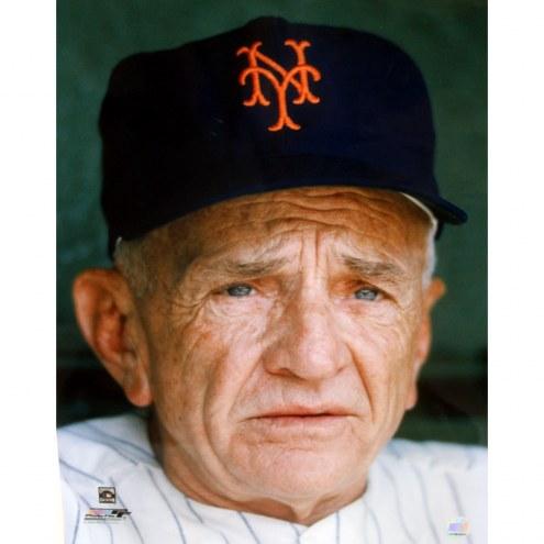 "New York Mets Casey Stengel Close-up Signed 16"" x 20"" Photo"