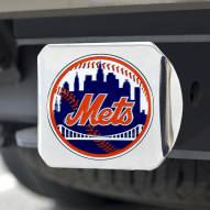 New York Mets Chrome Color Hitch Cover
