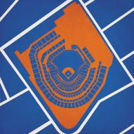 New York Mets Citi Field Stadium Print