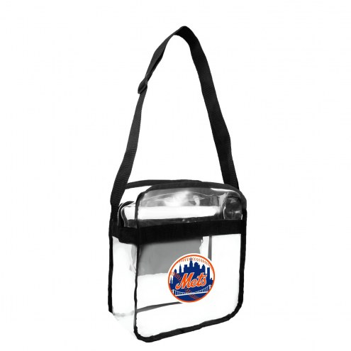 New York Mets Clear Crossbody Carry-All Bag