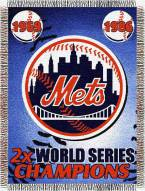 New York Mets Commemorative Throw Blanket