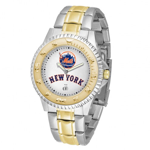 New York Mets Competitor Two-Tone Men's Watch
