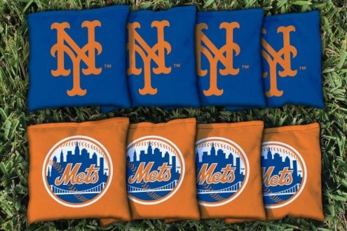New York Mets Cornhole Bag Set