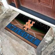 New York Mets Crumb Rubber Door Mat