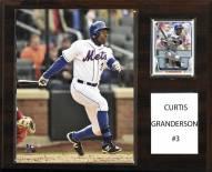 "New York Mets Curtis Granderson 12"" x 15"" Player Plaque"